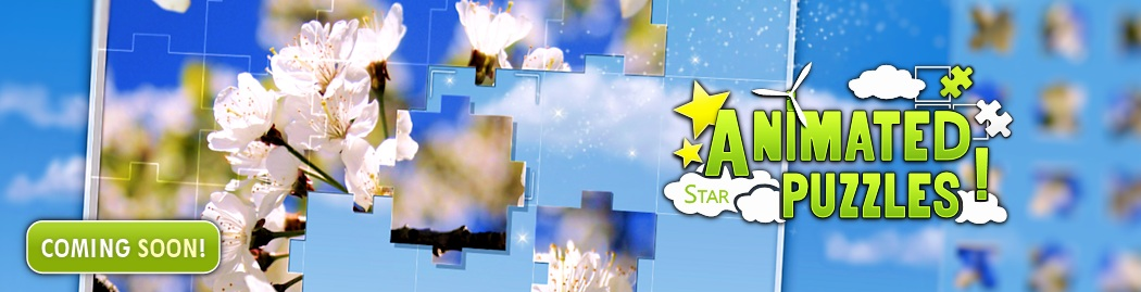 Animated Puzzles Star Coming Soon